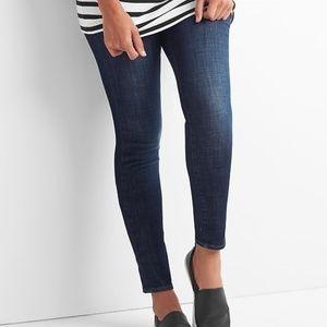 GAP MATERNITY True Skinny Seamless Panel Jeans 26